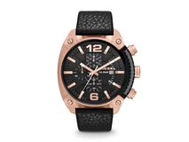 Часы наручные Diesel, мужские, d49, черный/золотой фото