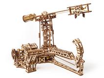 3D-пазл UGEARS Авиатор, бежевый фото