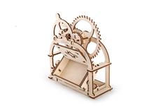 3D-пазл UGEARS Механическая Шкатулка, древесный фото