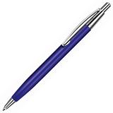 Ручка металлическая EPSILON, синий, серый, синий фото