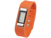 Часы-шагомер Get-Fitter, оранжевые фото