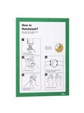 Рамка информационная самоклеящаяся DURAFRAME A4, зеленая фото