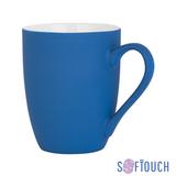"""Кружка """"Trend"""", покрытие soft touch, 350 мл, синяя фото"""
