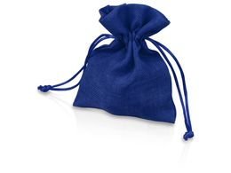 Мешочек подарочный маленький, синий фото