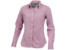 Рубашка Net женская с длинным рукавом, красный фото