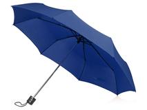 Зонт складной механический Columbus, синий фото