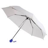 Зонт складной FANTASIA, механический, белый/ синий фото