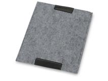 Чехол для iPad Джером, серебряный/серый фото