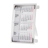 Календарь настольный на 2 года 18,5*11 см, белый фото