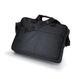 Портфель для документов, регулируемый наплечный ремень, полиэстер, черный фото