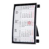 Календарь настольный на 2 года 18,5*11 см, черный фото