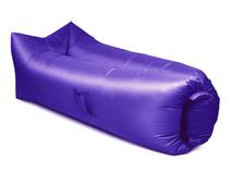 Надувной диван Биван 2.0, фиолетовый фото