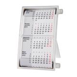 Календарь настольный на 2 года, серый фото