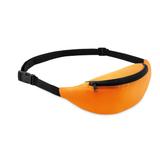 Сумка поясная, оранжевый/черный фото