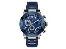 Часы наручные, мужские, серебряный/серый, синий фото