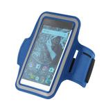 """Держатель для смартфона на руку Hold Me Tight 5,5"""", синий фото"""