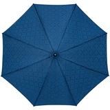 Зонт-трость Magic с проявляющимся рисунком в клетку, темно-синий фото