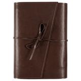 Ежедневник недатированный Адъютант Strap, коричневый фото