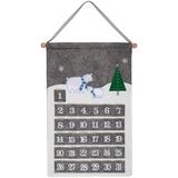 Адвент-календарь Noel, с медведями фото