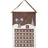 Адвент-календарь Noel, с мышкой фото