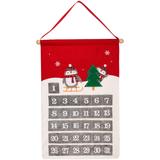 Адвент-календарь Noel, с пингвинами фото