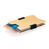 Чехол для карт с RFID, бежевый фото