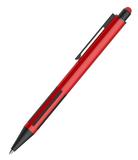 Ручка шариковая со стилусом IMPRESS TOUCH, прорезиненный грип, красный фото