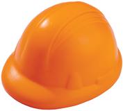 Антистресс Каска, оранжевый фото