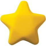Антистресс Звезда, желтый фото