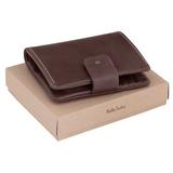 Бумажник Coretto, коричневый фото