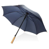 "Автоматический зонт-антишторм из RPET 23"", тёмно-синий фото"