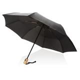 """Автоматический зонт из RPET 21"""", чёрный фото"""