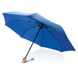 """Автоматический зонт из RPET 21"""", голубой фото"""
