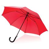 Зонт трость автоматический, 23, красный фото
