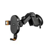 Автомобильный держатель Rombica NEO Clip с беспроводной зарядкой, черный фото