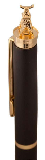 Ручка металлическая Pole Golden Top, черный фото