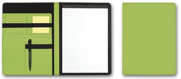 Папка для документов SKUBA, А4, светло-зеленая фото