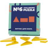 Головоломка Challenging Puzzle Acrylic, модель 6, стекло, желтая фото