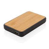 Бамбуковый карманный внешний аккумулятор Fashion, 5000 mAh фото