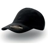 Бейсболка Аir 6 клиньев, черный фото