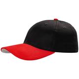 Бейсболка Ben Loyal, черная с красным фото