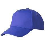 Бейсболка Bizbolka Convention 5 клиньев, синяя фото