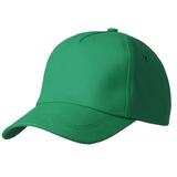 Бейсболка Bizbolka Match 5 клиньев, темно-зеленая фото