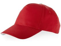 Бейсболка Brunswick 5 клиньев, красный фото