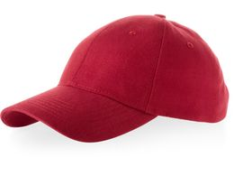 Бейсболка Bryson 6 клиньев, красный фото