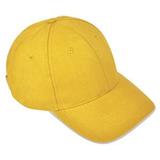Бейсболка Classic, желтый фото