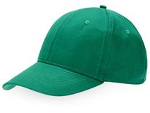Бейсболка Detroit 6 клиньев, зеленый фото