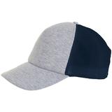 Бейсболка DODGE, серый меланж с темно-синим фото