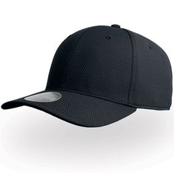 Бейсболка DYE FREE 6 клиеньев, черный фото