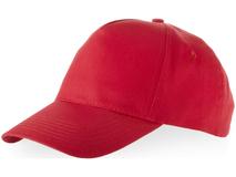 Бейсболка Memphis 5 клиньев, красный фото